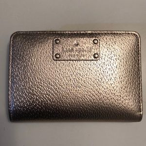 Kate Spade Wallet in Rose Gold